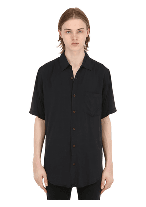 Stevie Short-sleeved Rayon Shirt