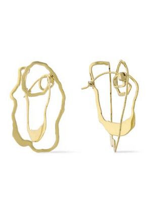 Ellery Woman Vigano Gold-plated Earrings Gold Size -