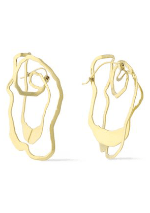 Ellery Woman Erno Gold-plated Earrings Gold Size -