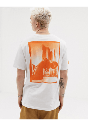 Weekday X Non Violence frank t-shirt white