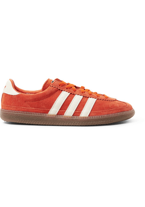 adidas Consortium - Spezial Whalley Leather-trimmed Suede Sneakers - Orange
