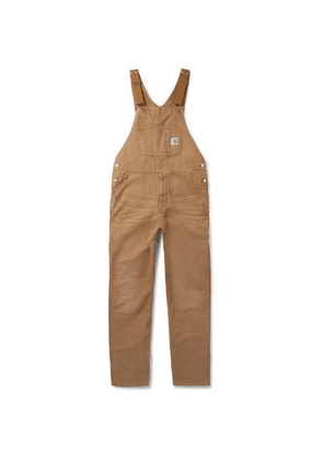 Carhartt WIP - Cotton-canvas Bib Overalls - Brown