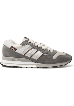 adidas Consortium - Spezial Zx530 Suede, Leather And Mesh Sneakers - Gray