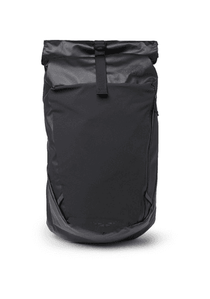 The North Face - Peckham Canvas And Mesh Backback - Black