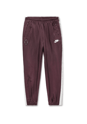08a522766 Nike | Sportswear Heritage Slim-fit Tapered Loopback Cotton-blend ...