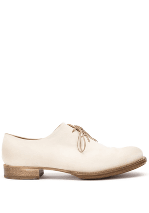 Cherevichkiotvichki asymmetric lace-up shoes - White