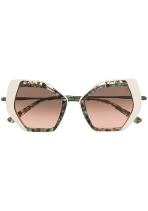 Etnia Barcelona Sahara sunglasses - Green