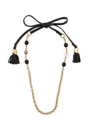 Dolce & Gabbana back tie necklace - Black