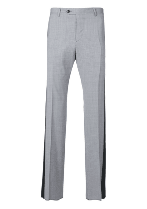 Valentino side stripe tailored trousers - Blue