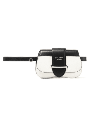 Prada - Sidonie Two-tone Leather Belt Bag - White