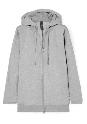 adidas by Stella McCartney - Essentials French Cotton-blend Terry Hoodie - Gray