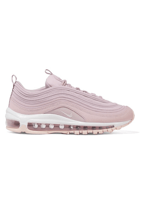 Nike - Air Max 97 Leather, Suede And Mesh Sneakers - Lilac