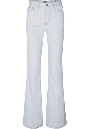 Eytys - Oregon Twill High-rise Flared Jeans - White