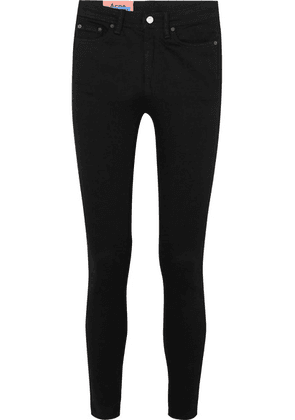 Acne Studios - Peg High-rise Skinny Jeans - Black