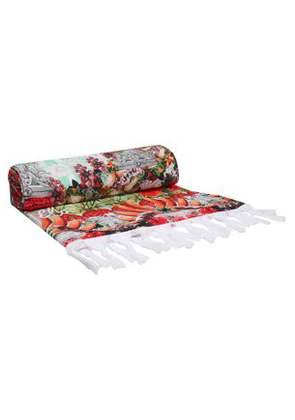 Camilla Woman Printed Cotton-terry Beach Towel Multicolor Size ONESIZE