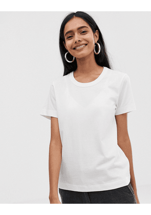 Weekday Kate t-shirt in White