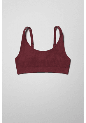 Cat Soft Bra - Red