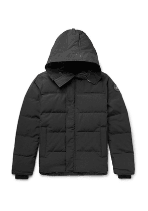 Canada Goose - Macmillan Slim-fit Quilted Shell Hooded Down Parka - Black