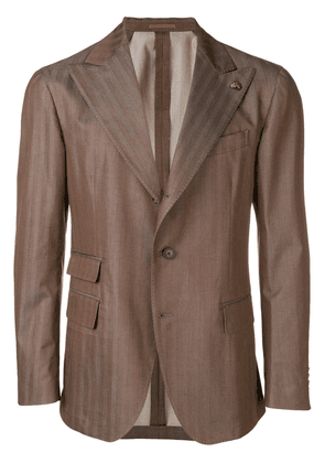 Gabriele Pasini classic single-breasted blazer - Brown