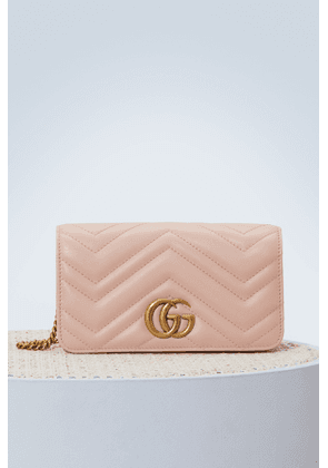 GG Marmont wallet on chain