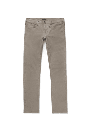 TOM FORD - Slim-fit Denim Jeans - Mushroom