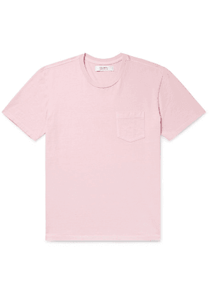 Freemans Sporting Club - Cotton-jersey T-shirt - Pink