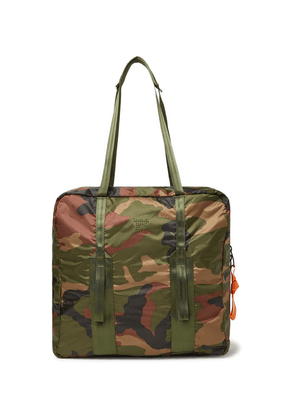 Herschel Supply Co - Studio City Pack Hs7 Camouflage-print Ripstop Tote Bag - Army green