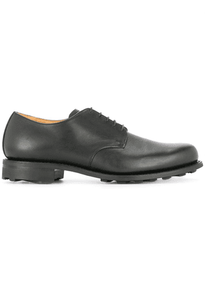 Attachment classic derby shoes - Black