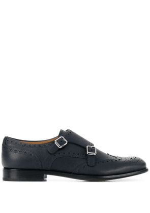 Church's double buckled brogues - Blue