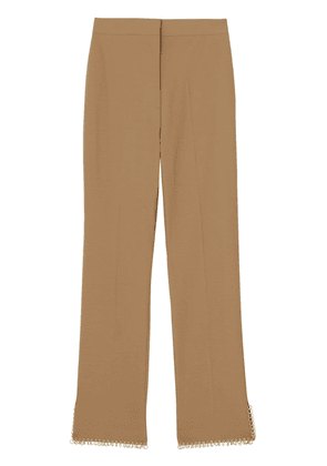 Burberry ring pierced tailored trousers - Neutrals