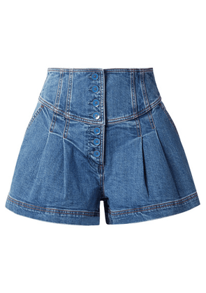Ulla Johnson - Cass Denim Shorts - Mid denim