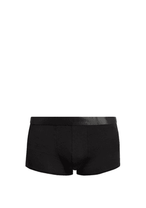 Cdlp - Stretch Jersey Boxer Trunks - Mens - Black