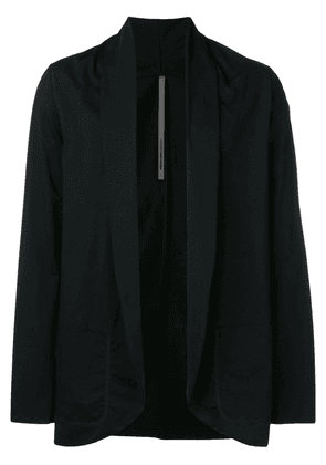 Attachment draped lightweight jacket - Black