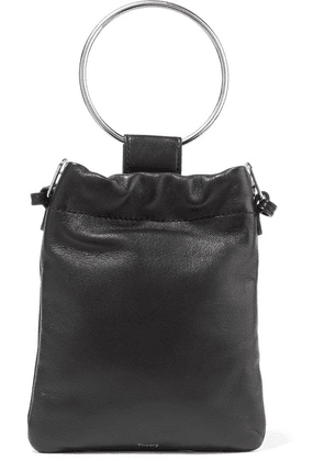 Theory - Leather Pouch - Black