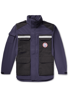 Canada Goose - Photojournalist Slim-fit Two-tone Tri-durance Jacket - Storm blue