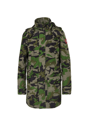 Canada Goose - Crew Camouflage-print Shell Jacket - Army green