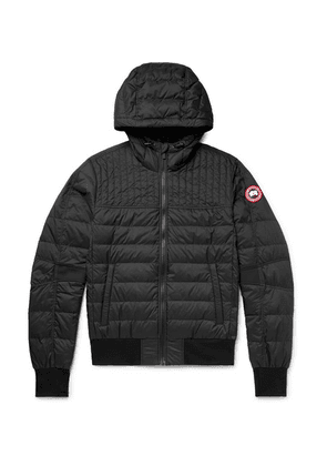 Canada Goose - Cabri Slim-fit Quilted Nylon-ripstop Hooded Down Jacket - Black