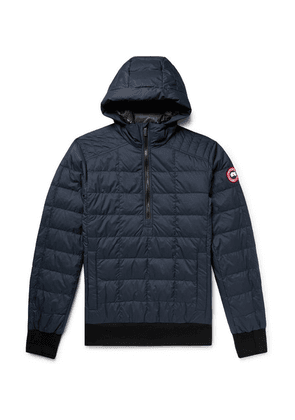 Canada Goose - Wilmington Quilted Nylon Down Hooded Jacket - Navy