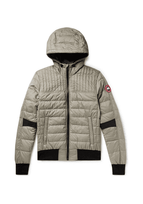 Canada Goose - Cabri Quilted Nylon-ripstop Hooded Down Jacket - Gray green
