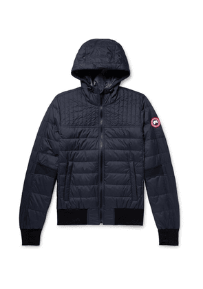 Canada Goose - Cabri Slim-fit Quilted Nylon-ripstop Hooded Down Jacket - Navy