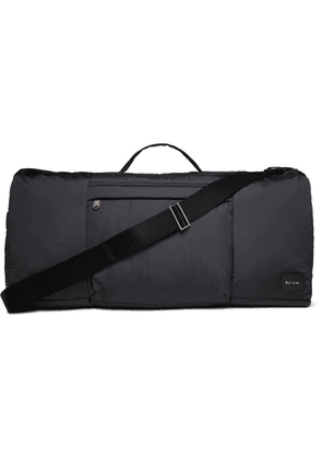 Paul Smith - Leather-trimmed Shell Holdall - Navy
