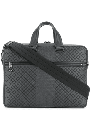 Bottega Veneta ardoise Intrecciato aurelio calf briefcase - Grey