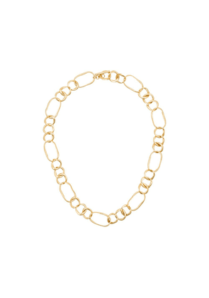 Cornelia Webb 24K gold plated Distorted link-chain necklace