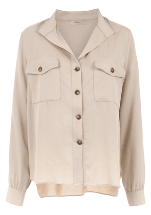 Egrey long sleeved shirt - Neutrals