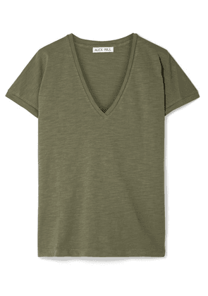 Alex Mill - Slub Cotton-jersey T-shirt - Army green
