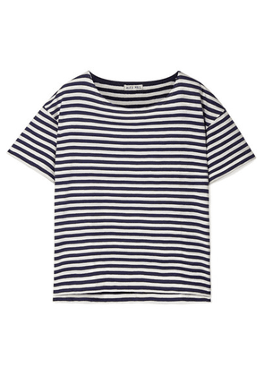 Alex Mill - Striped Cotton-jersey T-shirt - Navy