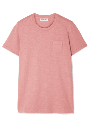Alex Mill - Slub Cotton-jersey T-shirt - Antique rose