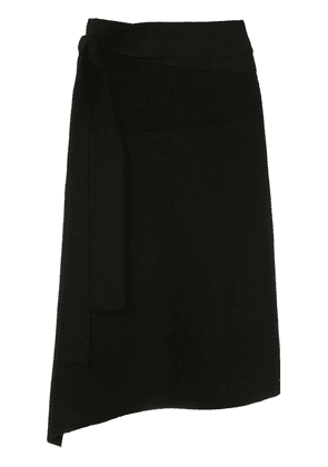 Egrey belted midi skirt - Black