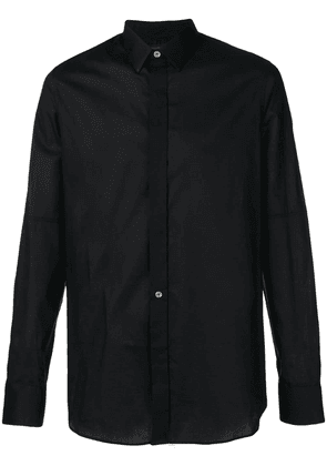 Ann Demeulemeester classic formal shirt - Black