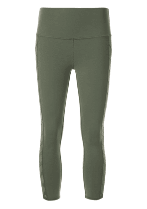 Alo Yoga chevron capri leggings - Green